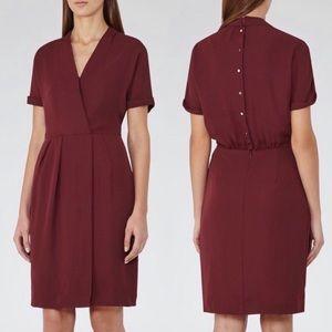 NWT Reiss Camden -Wrap Side Split Dress